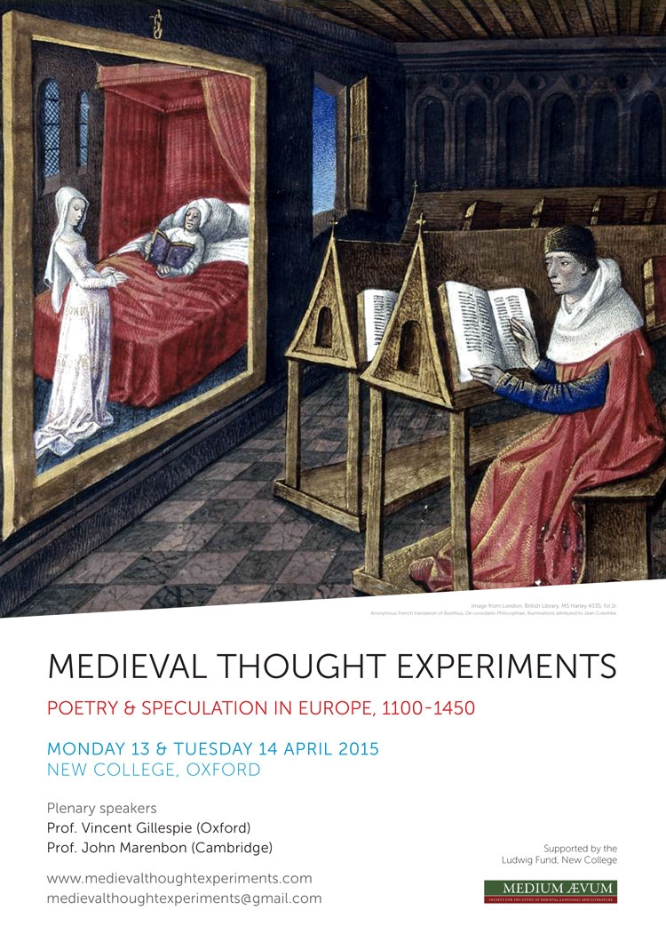 Medieval Thought Experiments