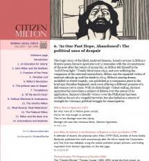 Citizen Milton