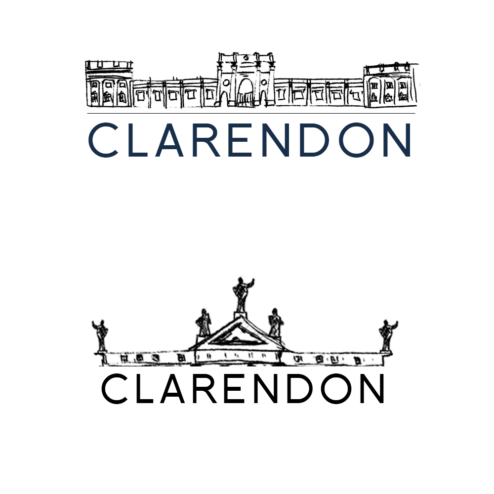 Clarendon Fund logo sketch