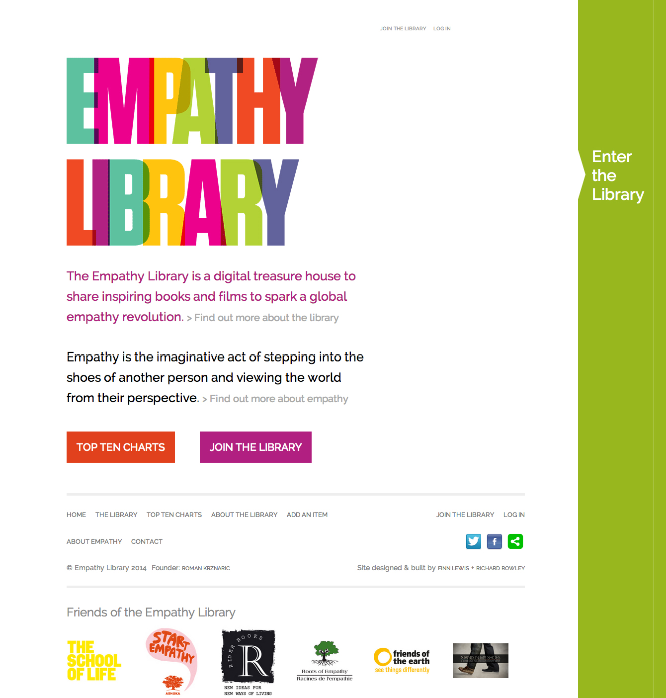 The Empathy Library